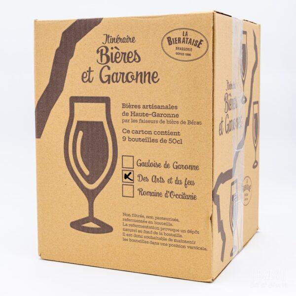 carton de 9 bières 50 cl